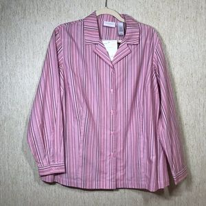 ELISABETH BY LIZ CLAIBORNE Button Down Shirt, 16P